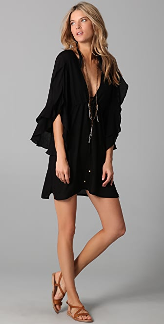 ViX Swimwear Solid Nubia Tunic