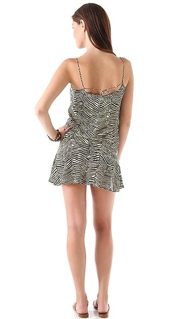 ViX Swimwear Africa Bliss Short Cover Up Dress