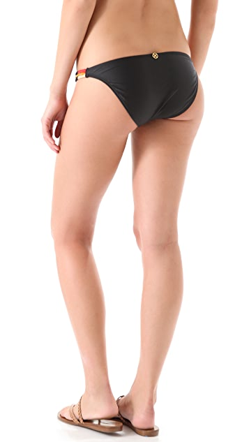 ViX Swimwear Senegal Embroidered Bikini Bottoms