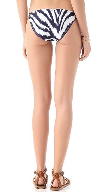 ViX Swimwear Cape Navy Bikini Bottoms