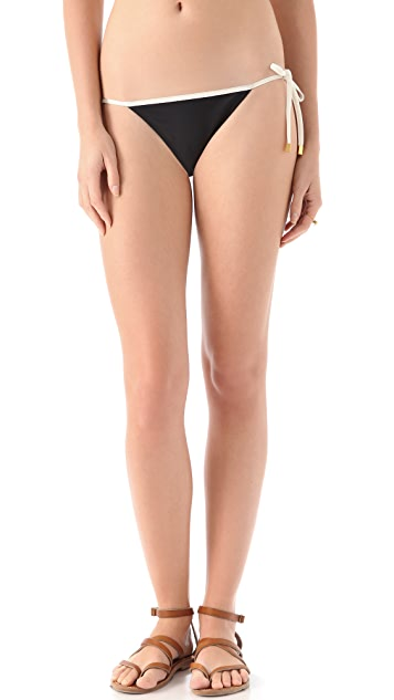 ViX Swimwear Malindi Tie Side Bikini Bottoms