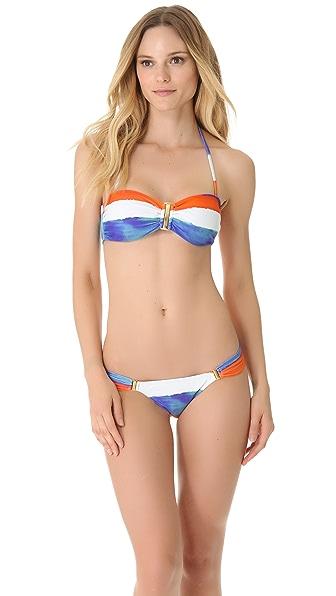 ViX Swimwear Caribe Square Bandeau Bikini Top