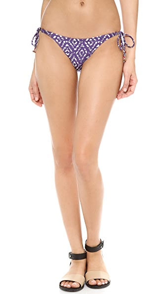 ViX Swimwear Agave Tie Side Bikini Bottoms