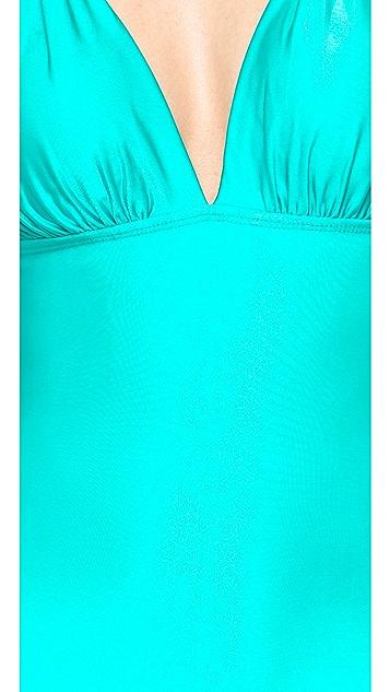 ViX Swimwear Solid Pera One Piece Swimsuit