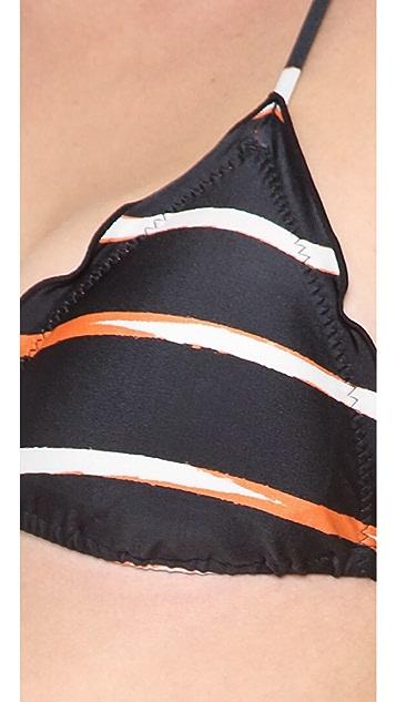 ViX Swimwear Ipe Triangle Bikini Top