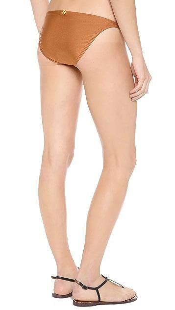 ViX Swimwear Solid Copper Bikini Bottoms