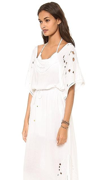 ViX Swimwear Solid White Paola Dress
