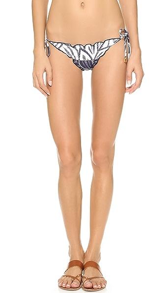 ViX Swimwear Una Ripple Bikini Bottoms