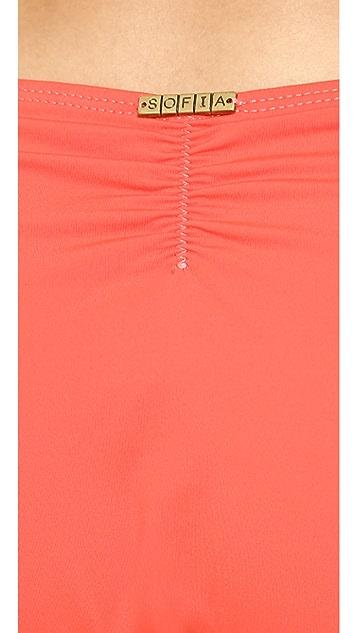 ViX Swimwear Sofia Solid Peach Bikini Bottoms