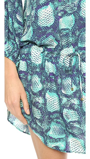 ViX Swimwear Snake Print Caftan