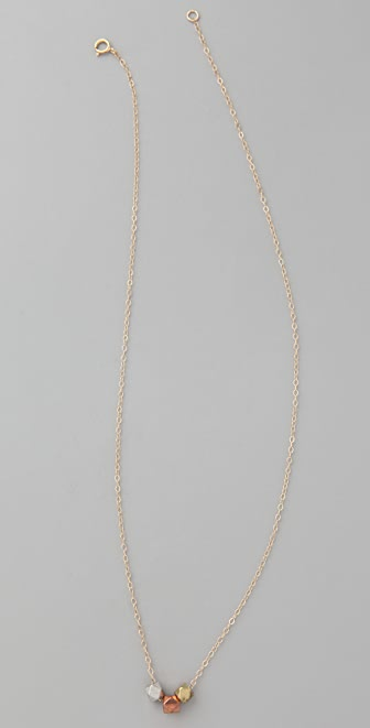 Vanessa Mooney Nugget Slider Necklace