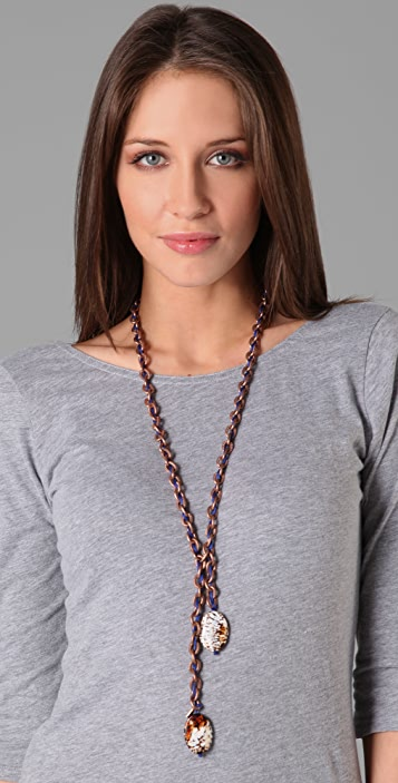 Vanessa Mooney Kaitlyn Leopard Necklace