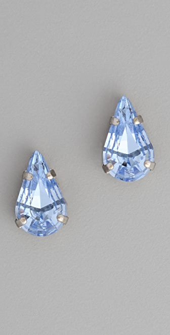 Vanessa Mooney Teardrop Crystal Studs