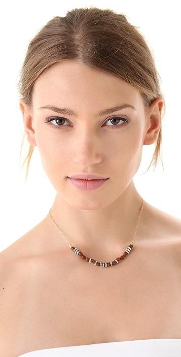 Vanessa Mooney Rhinestone Skull Necklace