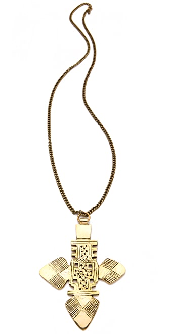 Vanessa Mooney The Zelda Large Cross Necklace