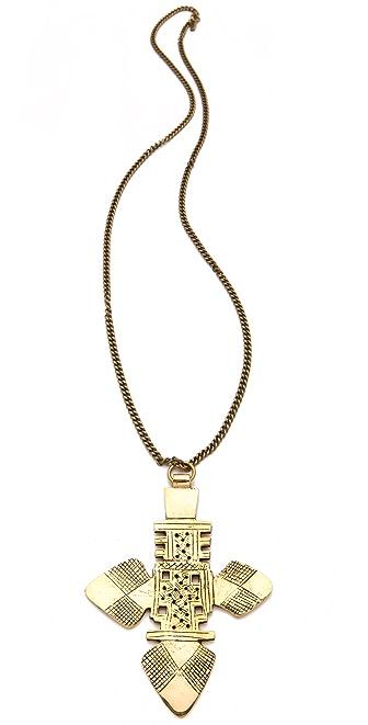 Vanessa Mooney The Zelda Large Cross Necklace