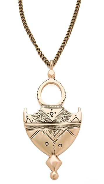 Vanessa Mooney Shield Me Necklace