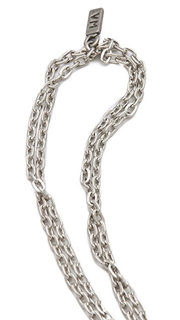 Vanessa Mooney Destiny Cross Necklace