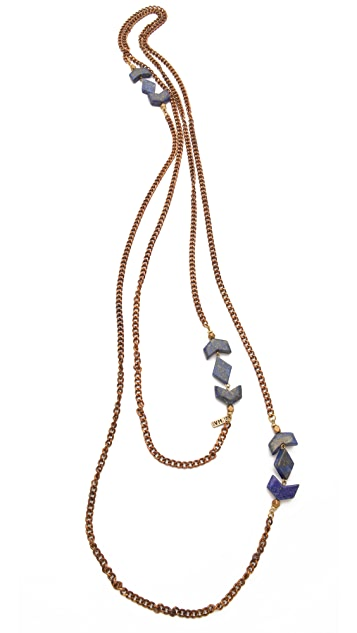 Vanessa Mooney Mesa Double Wrap Necklace