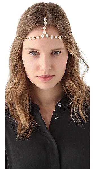 Vanessa Mooney Freshwater Pearl Headpiece