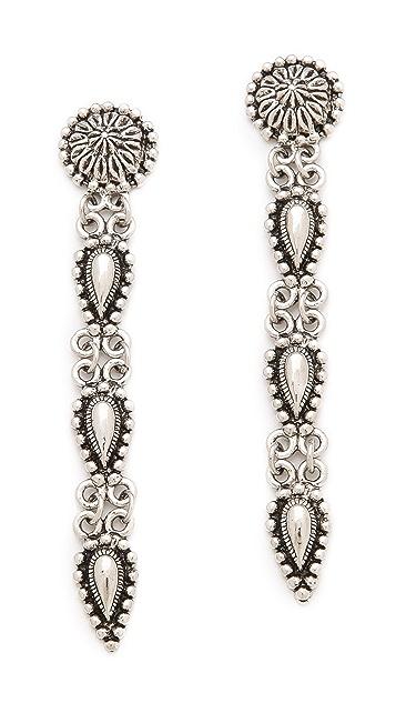 Vanessa Mooney The Stars of Crystal Earrings