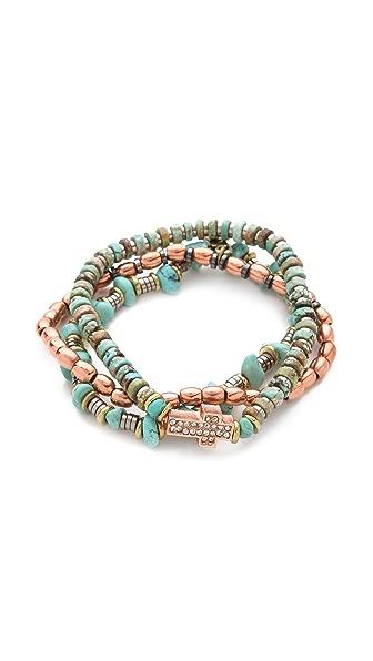 Vanessa Mooney Bright Side Of The Road Copper Bracelet Set