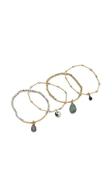 Vanessa Mooney Walk Alone Bracelet Set