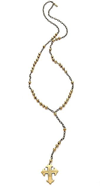 Vanessa Mooney Lion's Den Rosary Necklace