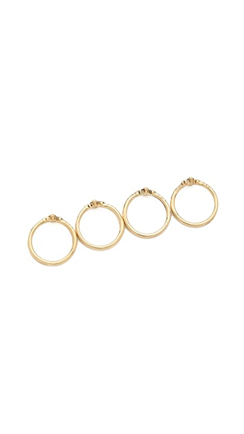 Vanessa Mooney Pretty Little Darlin' Stackable Rings