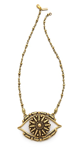 vanessa mooney rocker eye necklace shopbop