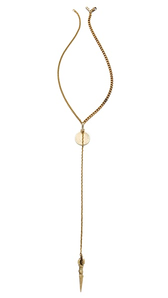 Vanessa Mooney La Vida Boheme Rosary Necklace