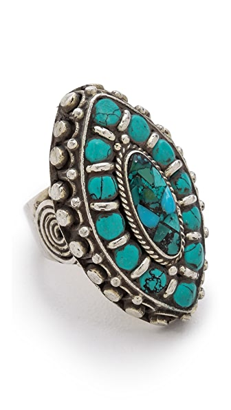 Vanessa Mooney Blue Velvet Ring