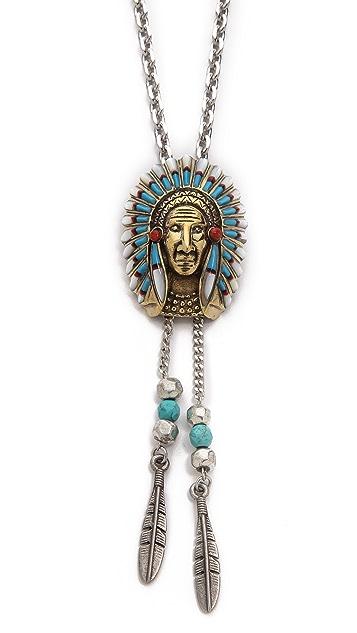 Vanessa Mooney The Musigue Bolotie Necklace