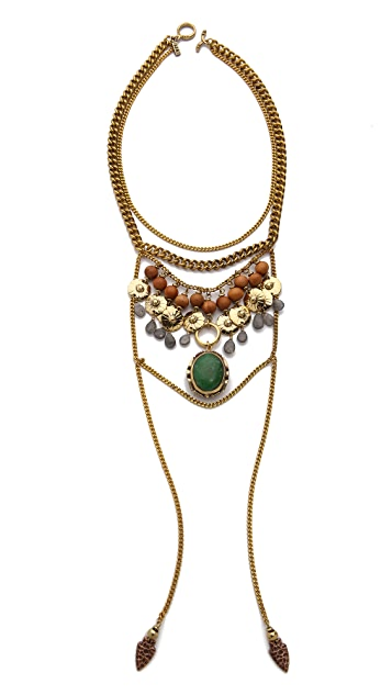 Vanessa Mooney The Flame Statement Necklace