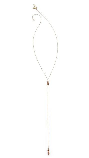 Vanessa Mooney The Moonlight Rosary Necklace