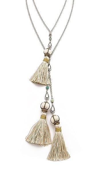 Vanessa Mooney The Novarro Tassel Necklace