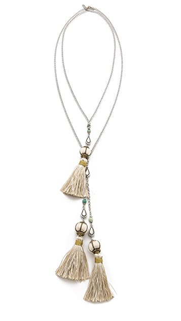 Vanessa Mooney The Novarro Tassel Necklace