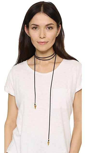Vanessa Mooney Bolo Necklace with Arrows