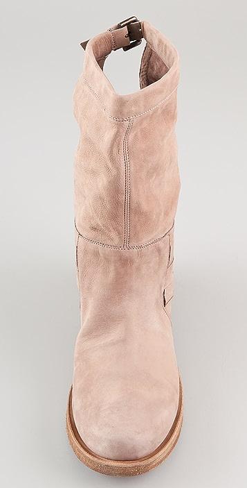 Vic Matie Zimbawe Woven Flat Boots