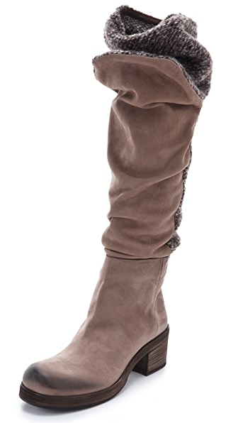 Vic Matie Mixed To-the-Knee Boots