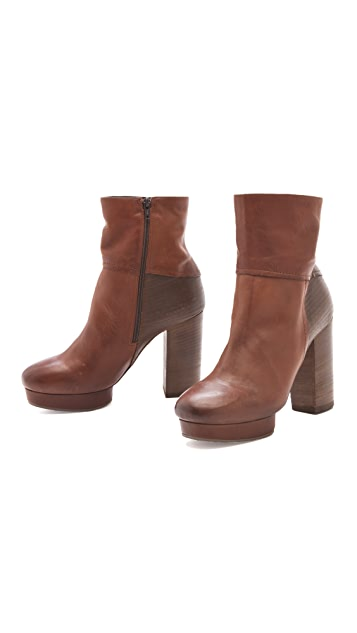 Vic Matie High Heel Platform Booties