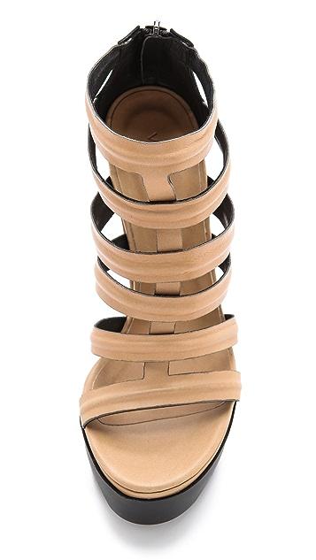 Vic Matie Cutout Sandals