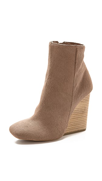 Vic Matie Kipling Haircalf Wedge Booties