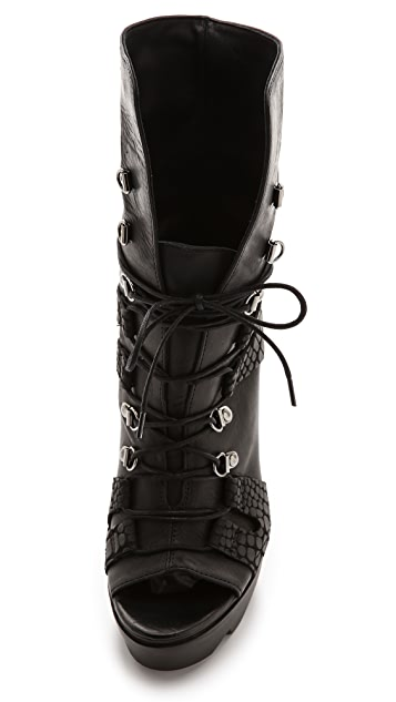 Vic Matie Promoteo Atlande Lace Up Booties