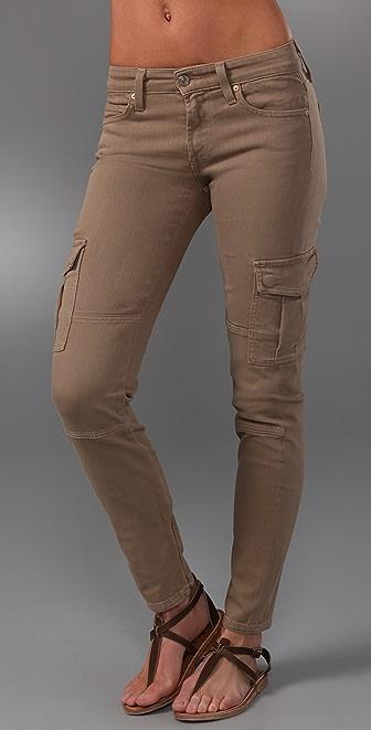 Vince Denim Ankle Cargo Skinny Jeans | SHOPBOP