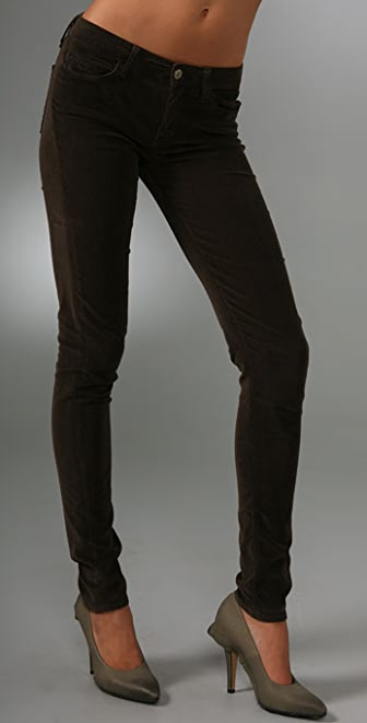 Vince Denim Second Skin Corduroy Pants
