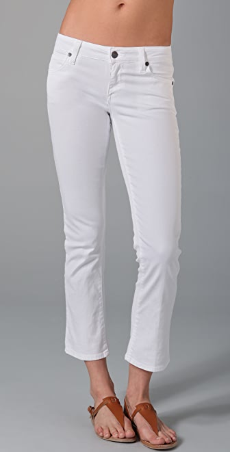 Vince Denim Crop Baby Bell Jeans