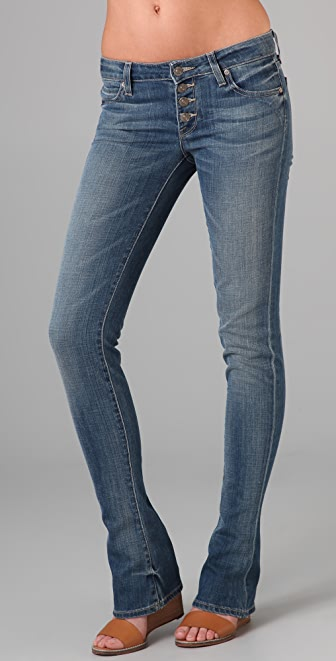 Vince Denim Baby Bell Redux Jeans