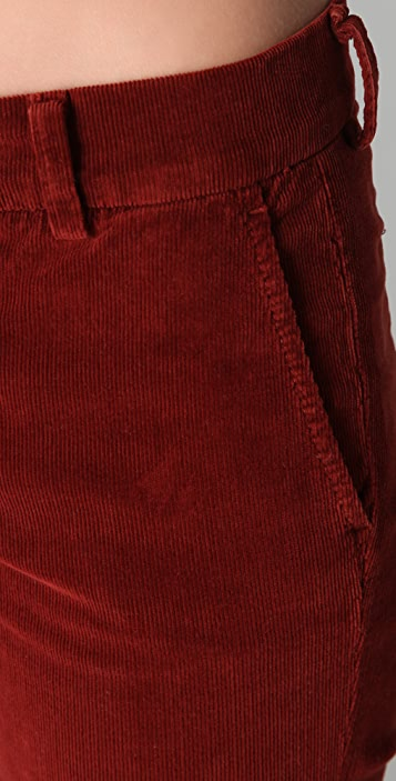 Vince Denim Corduroy Coin Pocket Pants