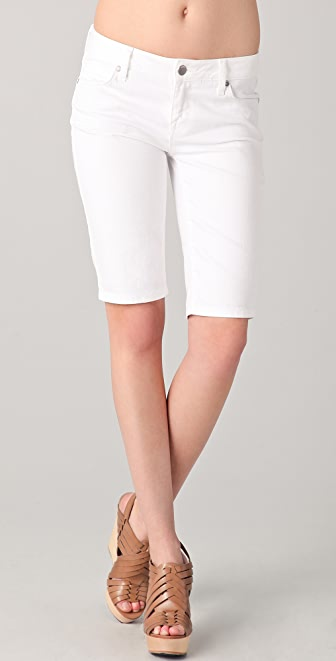 Vince Denim Five Pocket Bermuda Shorts